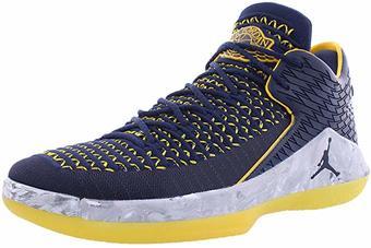 Air-Jordan-XXXII-32-Low-Michigan-Wolverines-Basketball-Shoes