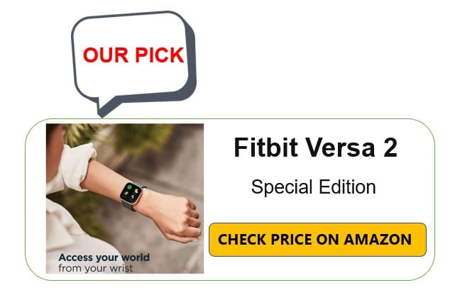 Fitbit Versa in Amazon